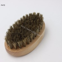 Wholesale Wooded Boar Bristle Beard Brush