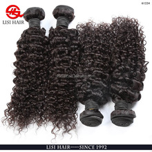 Fast Shipping Wholesale price raw virgin burmese curly hair