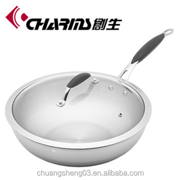 Best cookware kitchenware induction stainless steel fry pan