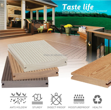 Fire Resistant WPC Decking Tile On Hot Sale