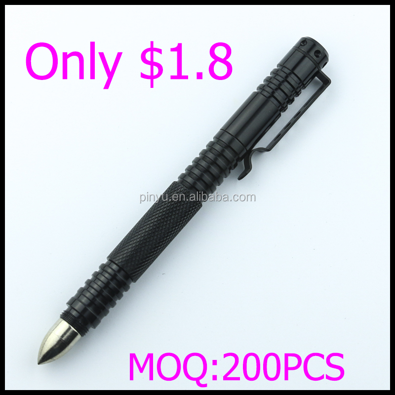 personal self defense products good weapons for girl tactical ball pen for outdoor survival tool