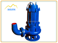 slurry pump centrifugal submersible pump with low price in sewage treatment