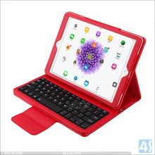 New for iPad Pro 9.7inch aluminum wireless bluetooth keyboard with high quality pu leather case