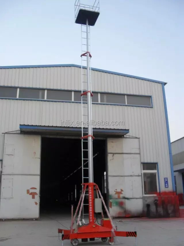 adjustable work platform portable/telescoping cylindrical lift
