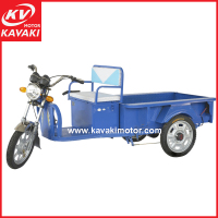 Made In China High Speed 48V 900W Motor Power Battery Cargo Tricycle Electric For Adults