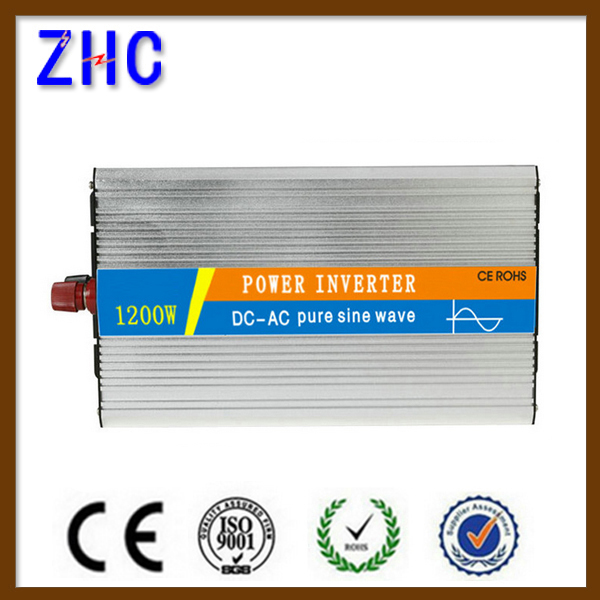 1200w 12vdc to 230vac pure sine wave off-grid power inverter