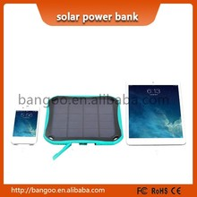 Fast charging 5600mah solar power banks portable window power bank charger