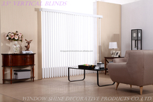 89MM Wholesale PVC/Fabric Vertical Blinds