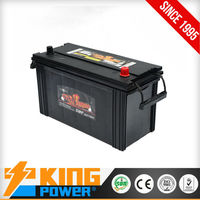 12V Korea design lead acid battery for truck and bus N100MF King Power