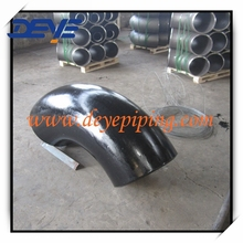 A420WPL6 Carbon Steel Pipe Fittings Butt Welded 90DEG LR elbow