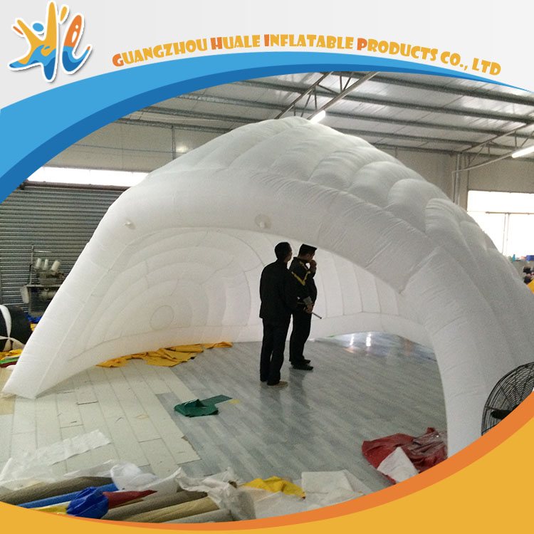 Portable Outdoor Inflatable Garden Igloo Tent With Air Pump