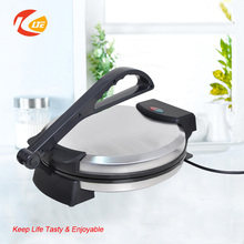 "CE certificated 12"" electric roti maker,automatic roti maker"