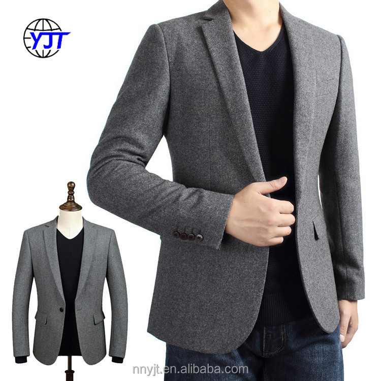 Custom Made 100% Wool Man Slim Fit Formal Wear Mens Suits