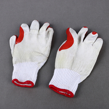 6 types best promotional cheap disposable white cotton yarns thin garden gloves work bulk