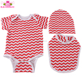 High quality baby clothes wholesale cute printed cotton newborn baby clothes gift set newborn