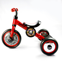 New arrival red mini 10'' baby tricycle car