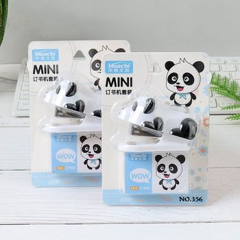 chinese panda stapler set mini size