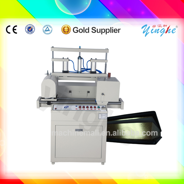 Lowest price and good qualiry book edge foiling machinery