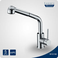 cUPC pullout spray kitchen faucet