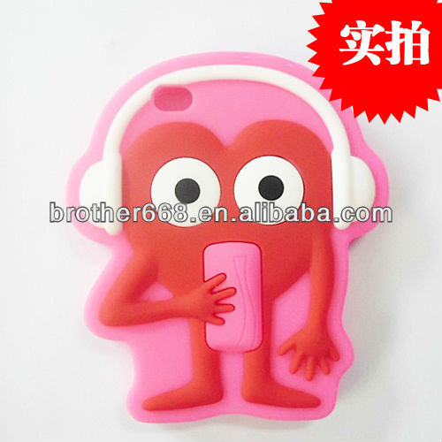 New design silicone mobile phone case/cell phone cover for iphon 5
