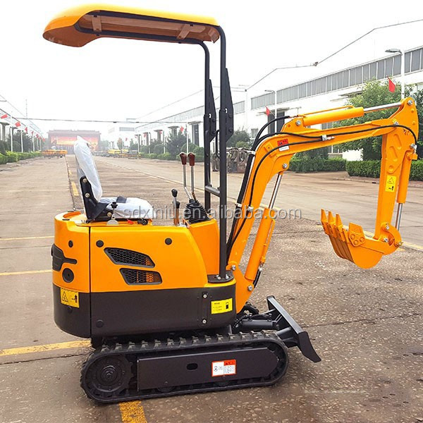 800kgs XN08 xn12 XN16 SMALL MINI EXCAVATOR with auger, rock hammer, rubber track, rake