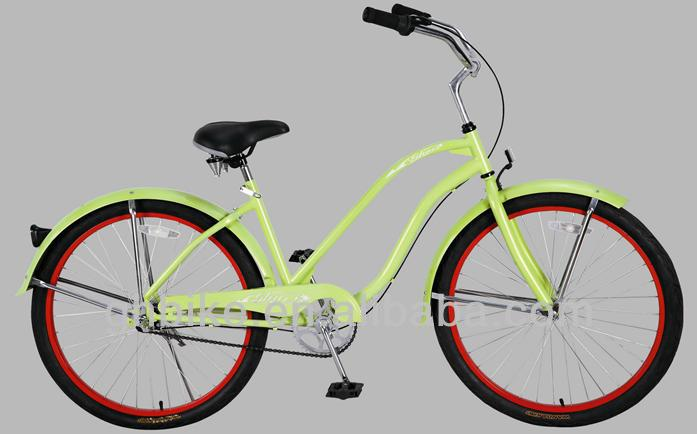 26'' beach cruiser bike,nexus inner 3 speed cruiser,colorful beach cruiser bicycle