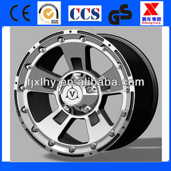 High effecient car wheel aluminum