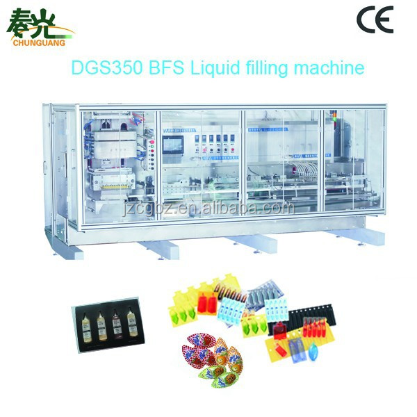 Plastic Ampoule Forming Filling and Sealing Packaging Machine