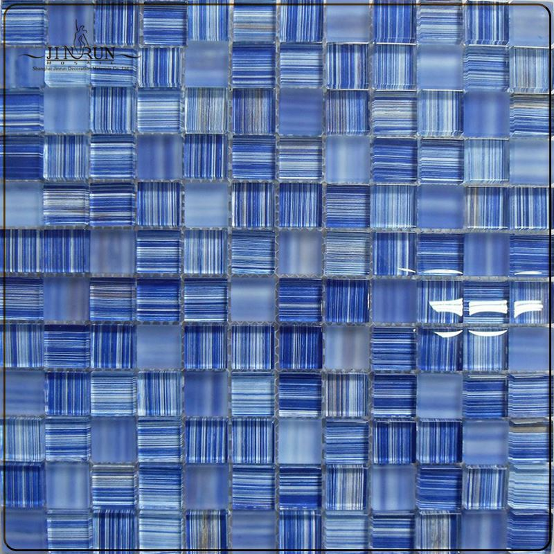 Silver Glass Mosaic Foiled Silver Mosaic Tiles(KN-13062415)