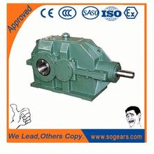 China exports 90 degree shaft gearbox bush hog gearbox