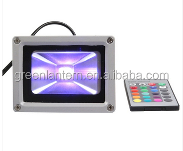 New style custom 10w led rgb floodlight 10watts