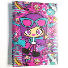 Free samples pocket personal gift hardcover light up notebook and diary with button