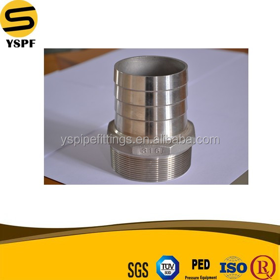 4 inch Stainless Steel Hose Nipple Casting Fitting