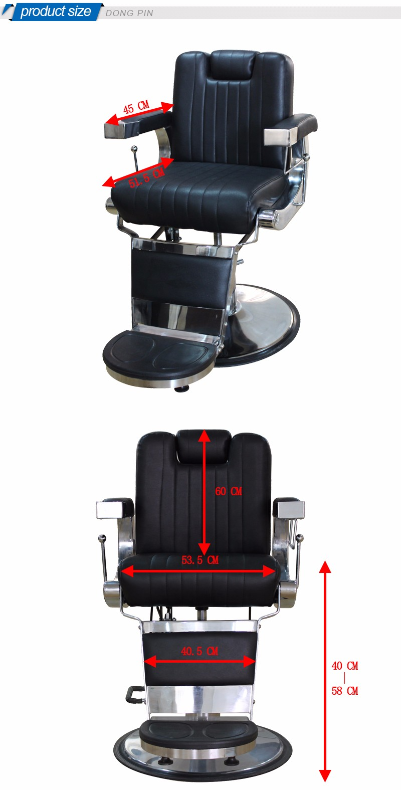 Used belmont barber chairs antique barber chair buy for Goedkope kappersstoel