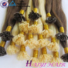 Double Drawn Indian Prebonded Hair Extension 100 Cheap Remy U Tip Keratin Human Hair Extension