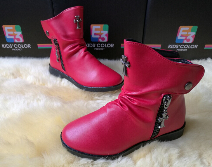 GZY cheap chinese shoes kid girls boots high quality durable factory direct sell price 2017 stock South African
