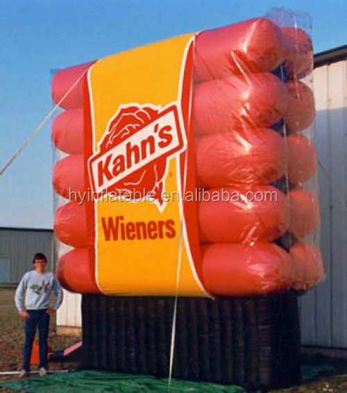 Good inflatable advertising sausage inflatable hot dog balloon