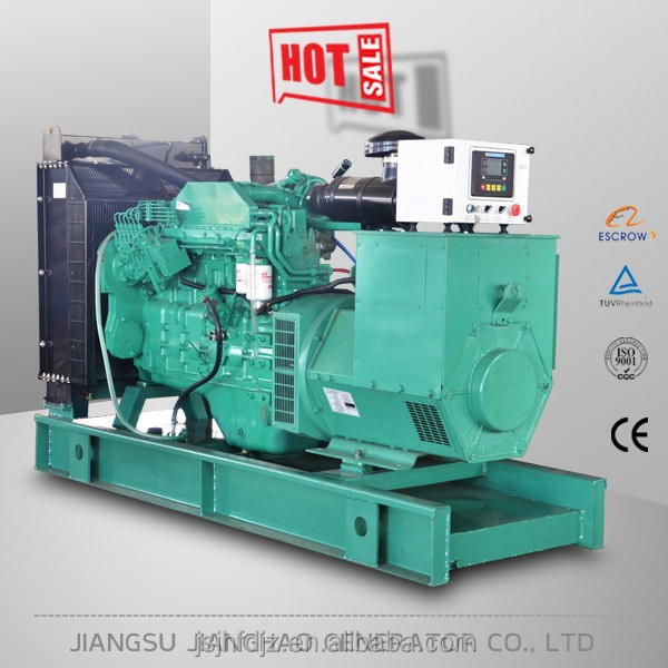 hot sale 100kw silent diesel electric generator with Cummins engine