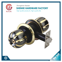 Zinc alloy entry privacy passage hotel round knob door lock