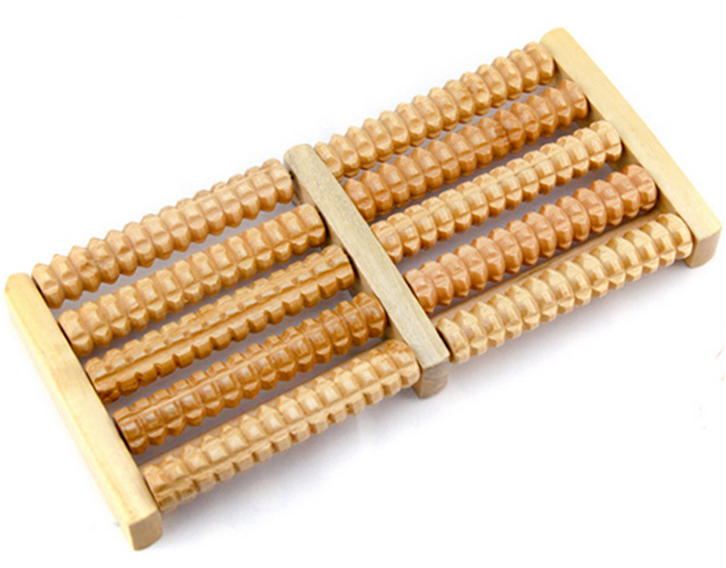 wholesale china wooden personal roller foot <strong>massager</strong>
