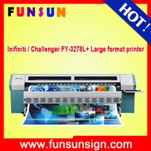 Infiniti / Challenger FY-3278L+ 3.2m solvent printer with 8pcs SPT 510/50PL heads high quality