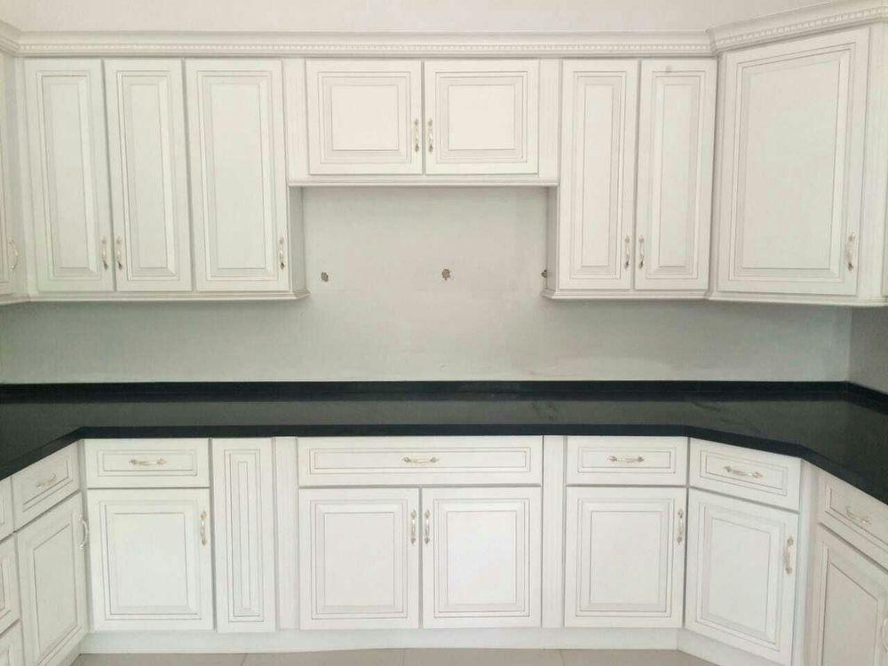 Wooden Kitchen Cabinet With Hinge Doors Buy Kitchen