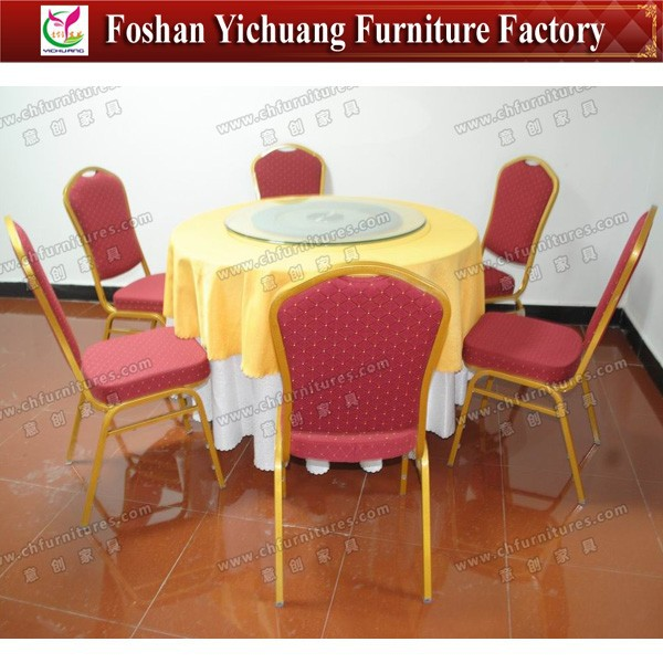 Banquet chair and round tables wedding events YC-T01-25