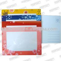 Self Adhesive Post Card Pocket,Photo Post Card Pouch