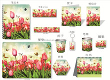Promotional Gift Item Low Cost 3D Lenticular Flower Gift Items