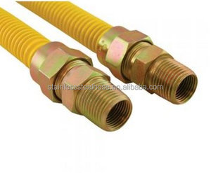 304 Stainless Steel Flexible Corrugated Natural Gas Hose