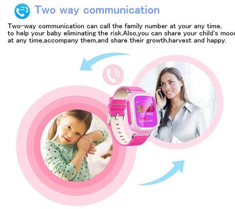 2016 wholesale GSM card calling kids GPS bluetooth android smart watch