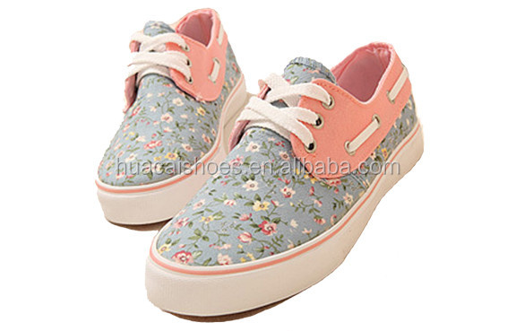 china well sell new casual shoes small flower shoe