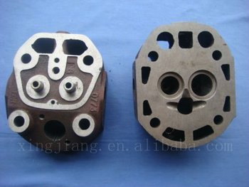 R180 Diesel engine cylinder head