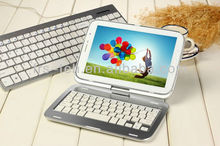 Mini protable smartphone keyboard for samsung with aluminum case